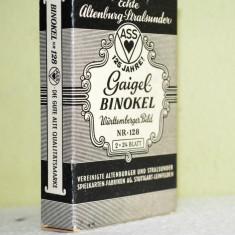 Dublu pachet de 24 carti vechi de joc  Gaigel Binokel Württemberger Bild-Nr.128