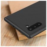 Husa pentru Samsung Galaxy Note10 Plus,Perfect Fit,cu insertii de carbon,NOU