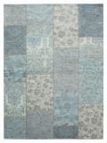 Cumpara ieftin Covor Modern & Geometric Patchwork Chenille, Acril, Turcoaz, 120x170