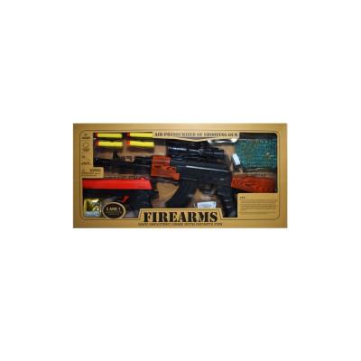 Pistol + pistol mitraliera cu bile foto