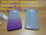 Husa silicon cu urechi de soricel  Samsung  J7.prime calitate si ieftin la pret