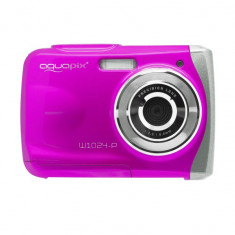 Camera Foto Subacvatica EasyPix W1024 Splash, 16 MPx, Roz