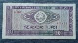 10 Lei 1966 Romania / seria 878223