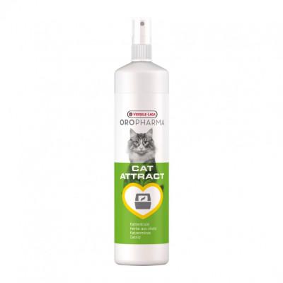 Spray atractant cu extractie de iarba pisicii Oropharma, 200 ml foto