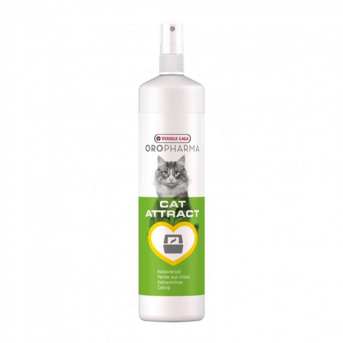 Spray atractant cu extractie de iarba pisicii Oropharma, 200 ml