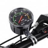 Cumpara ieftin Kilometraj mecanic pentru bicicleta, vitezometru resetabil analog, forma rotunda, Malatec