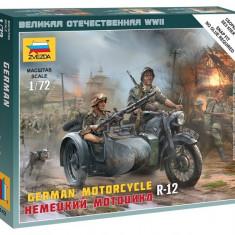 1:72 German Motorcycle R-12