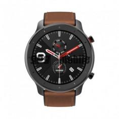 Ceas Smartwatch Xiaomi Huami Amazfit GTR, 1.39 inch, 47 mm, Amoled, GPS, 5ATM Waterproof, Bluetooth 5.0, 410 mAh