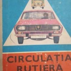 Circulatia rutiera. Manual experimental pentru clasele a XI-a si a XII-a