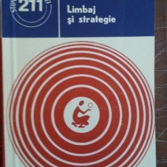 Limbaj si strategie – Edmond Nicolau