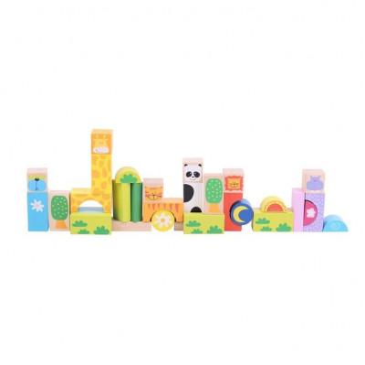 Cuburi pentru construit - Safari foto