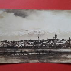 CARTE POSTALA SIBIU Vedere generala  × 1934, Circulata, Printata