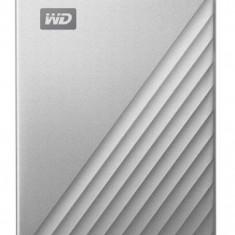 HDD Extern Western Digital My Passport Ultra For Mac, 2TB, USB 3.1 (Argintiu)