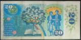 Bancnota 20 Coroane / Korun - RS Cehoslovacia, anul 1988  *cod 372 B