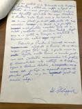 Manuscris Al. A. Philippide - Traind lirica lui Puskin