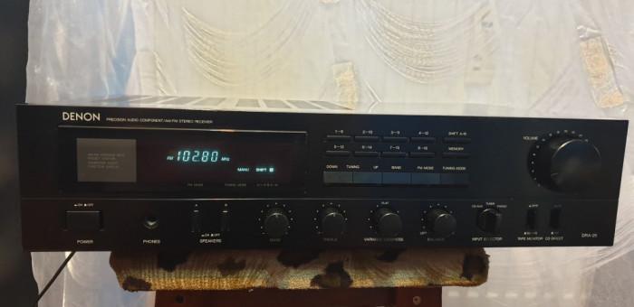 Amplificator Audio Statie Audio Amplituner Denon DRA-25