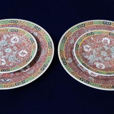 Set patru farfuri portelan Chinezesc