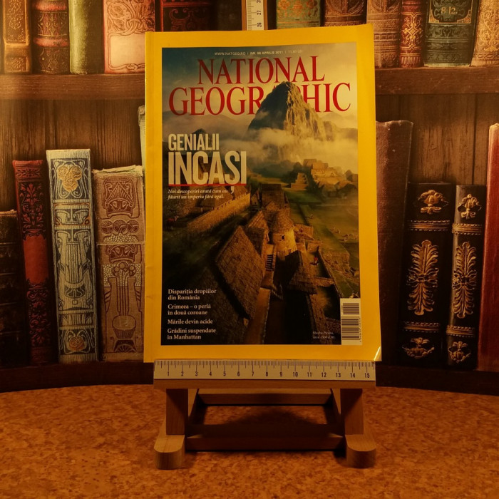 "National Geographic nr. 96 aprilie 2011 ""A7200"""
