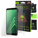 FOLIE ALIEN SURFACE HD, SAMSUNG GALAXY A8, PROTECTIE ECRAN, SPATE, LATERALE +...
