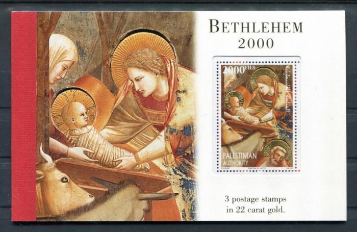 PALESTINA 2000 RELIGIE FOITA DE AUR DE 22 CARATE 5 FOTO