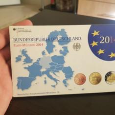 Set de monetarie GERMANIA litera D 2014 !!!