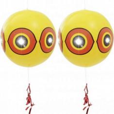 Set 2 bucati baloane cu aspect decorativ anti-pasari, Gardigo, 1497360