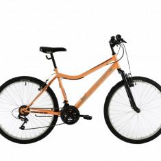Bicicleta Oras Kreativ 2604 Portocaliu Negru M 26 inch