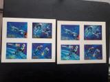 Set blocuri timbre bhutan 1967 cosmos 3 d impf., Nestampilat