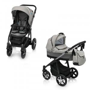 Carucior Multifunctional 2 in 1 Baby Design Husky Winter Pack 07 Grey