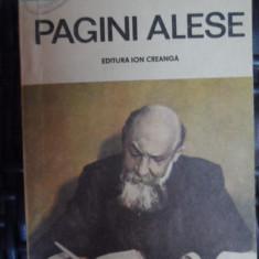 Pagini Alese - Nicolae Iorga ,548290