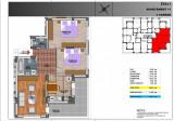 Ap. 3 camere 76.000 euro 78 mp. utili, Etajul 2
