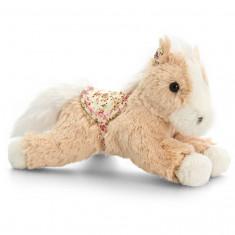 Ponei de plus Belle Rose Floppy Horse bej 20 cm