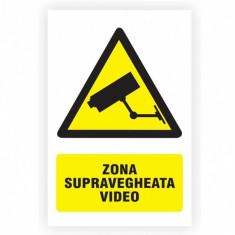 Indicator Zona supravegheata video