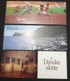 Lot de trei carnete cu timbre MNH - Danemarca 1994, 1995, 1996