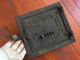 Design / Decor / Vintage - Veche usa de teracota din fonta model interesant !