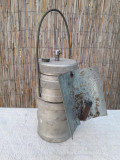 Lampa miner romaneasca realizata artizanal perioada comunista