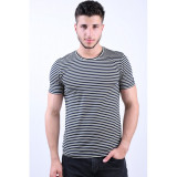 Tricou Selected Slhnew Bright White/Caviar