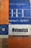 Matematica manual pentru clasa a VI-a