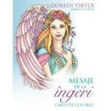 Mesaje de la ingeri. Carte de colorat - Doreen Virtue