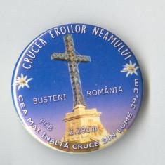 Insigna  CRUCEA EROILOR NEAMULUI - Busteni Romania