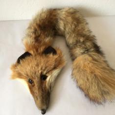 Guler din balan naturala de vulpe roscata, 58cm