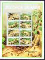 DB WWF Fauna Insulele Solomon Soparla Zebrata  MS MNH