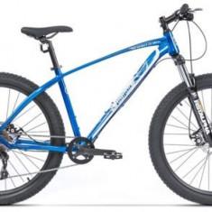 Bicicleta Pegas Drumuri Grele 17, Cadru 17inch, Roti 27.5inch, 10 Viteze (Albastru)