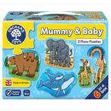 Set 6 Puzzle Mama si Copilul, orchard toys