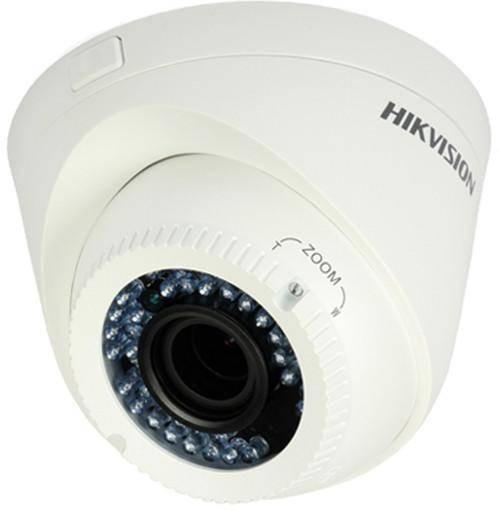 Camera Supraveghere Video Hikvision DS-2CE56D0T-VFIR3F CMOS 2MP Alb