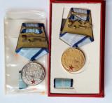Medalia Meritul Militar cls I si II, RSR