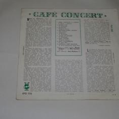 Cafe concert - Nicusor Predescu - Nelu Urziceanu - vinil - mediu