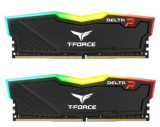 Memorie Team Group Delta RGB, DDR4, 2x8GB, 3200MHz, CL 16 (Negru)