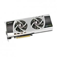 Placa video second hand Palit GeForce GTX 570 1.28GB GDDR5 320-bit, PCI Express, nVidia