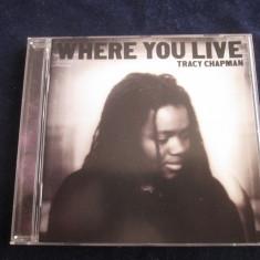 Tracy Chapman - Where You Live _ cd,album _ Elektra ( 2005, Europa)